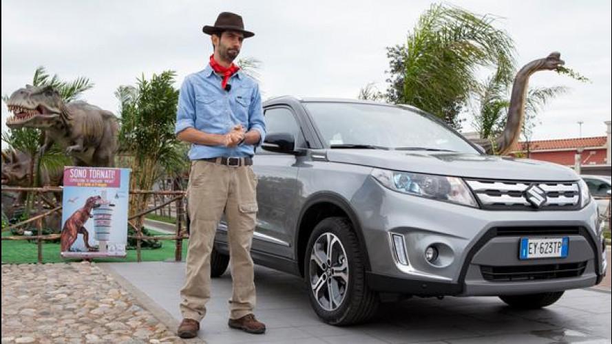 Suzuki Vitara, SUV per selezione naturale [VIDEO]