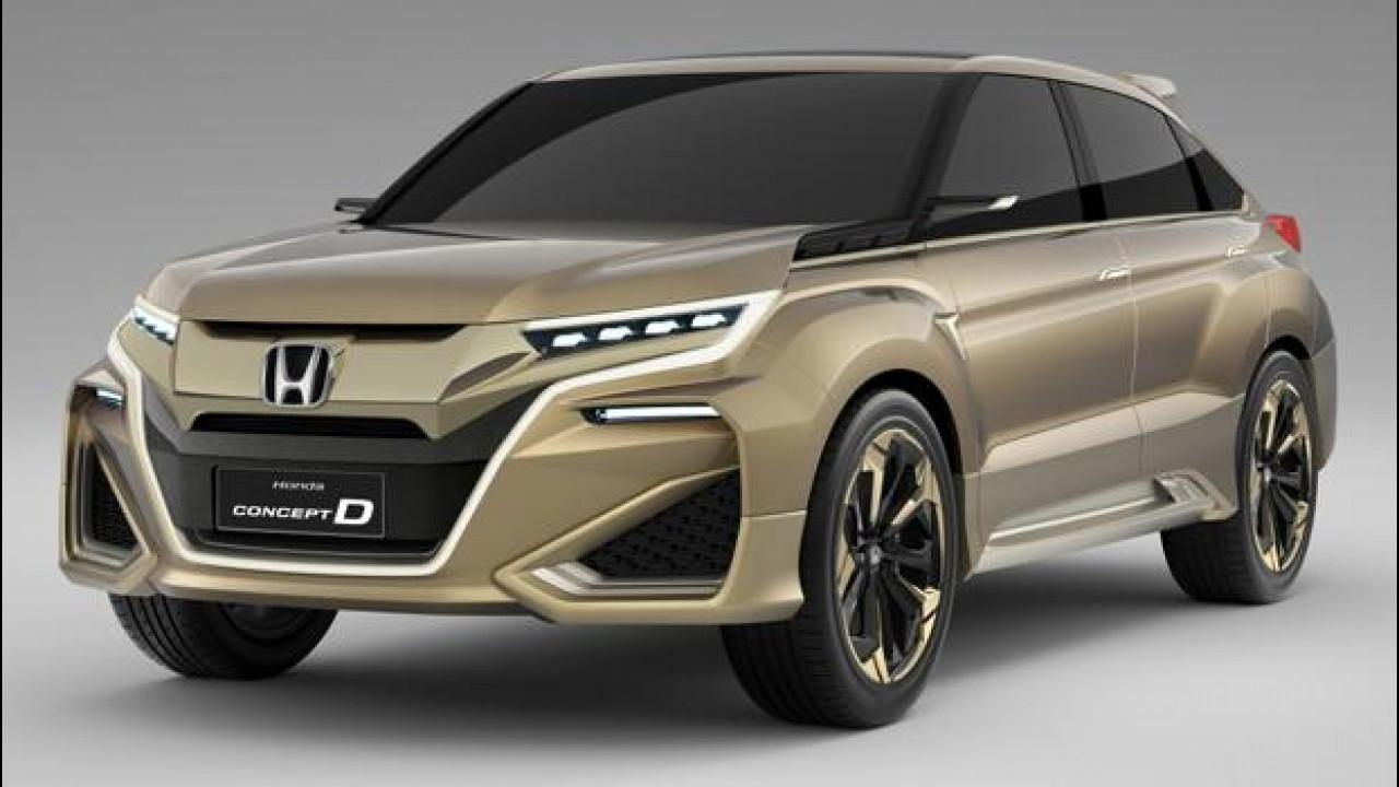 [Copertina] - Honda Concept D, il SUV per la Cina