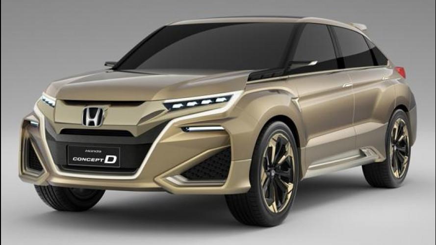 Honda Concept D, il SUV per la Cina