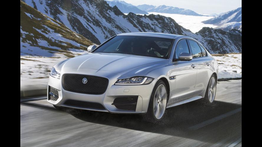Jaguar XF, arriva la diesel AWD