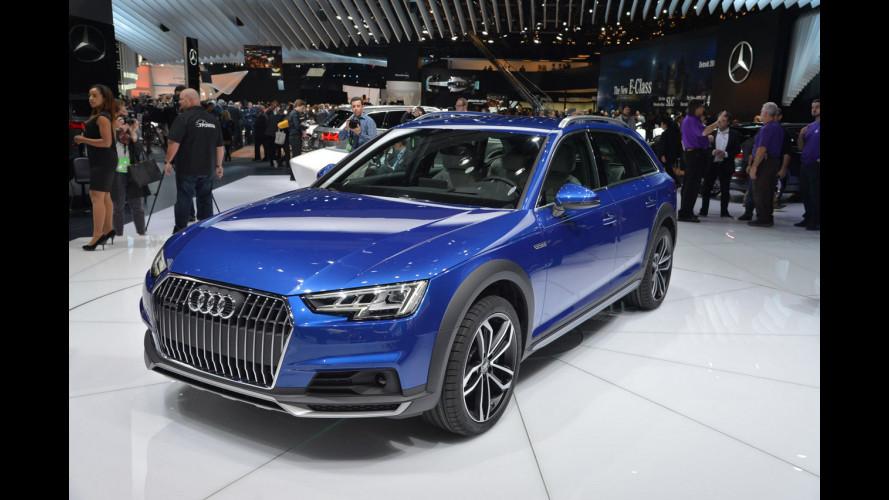 """Audi A4 allroad, la nuova station """"suvvizzata"""" da vicino [VIDEO]"""