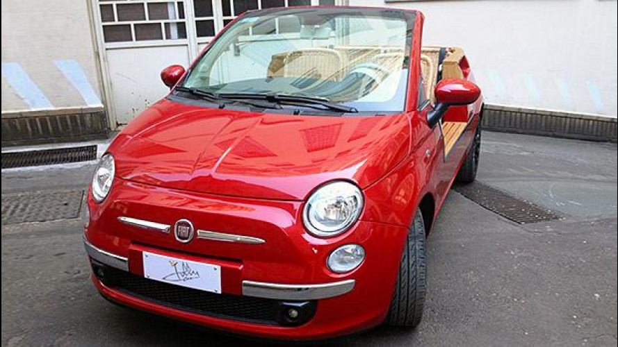 JollyCar Fiat 500, la spiaggina è tornata