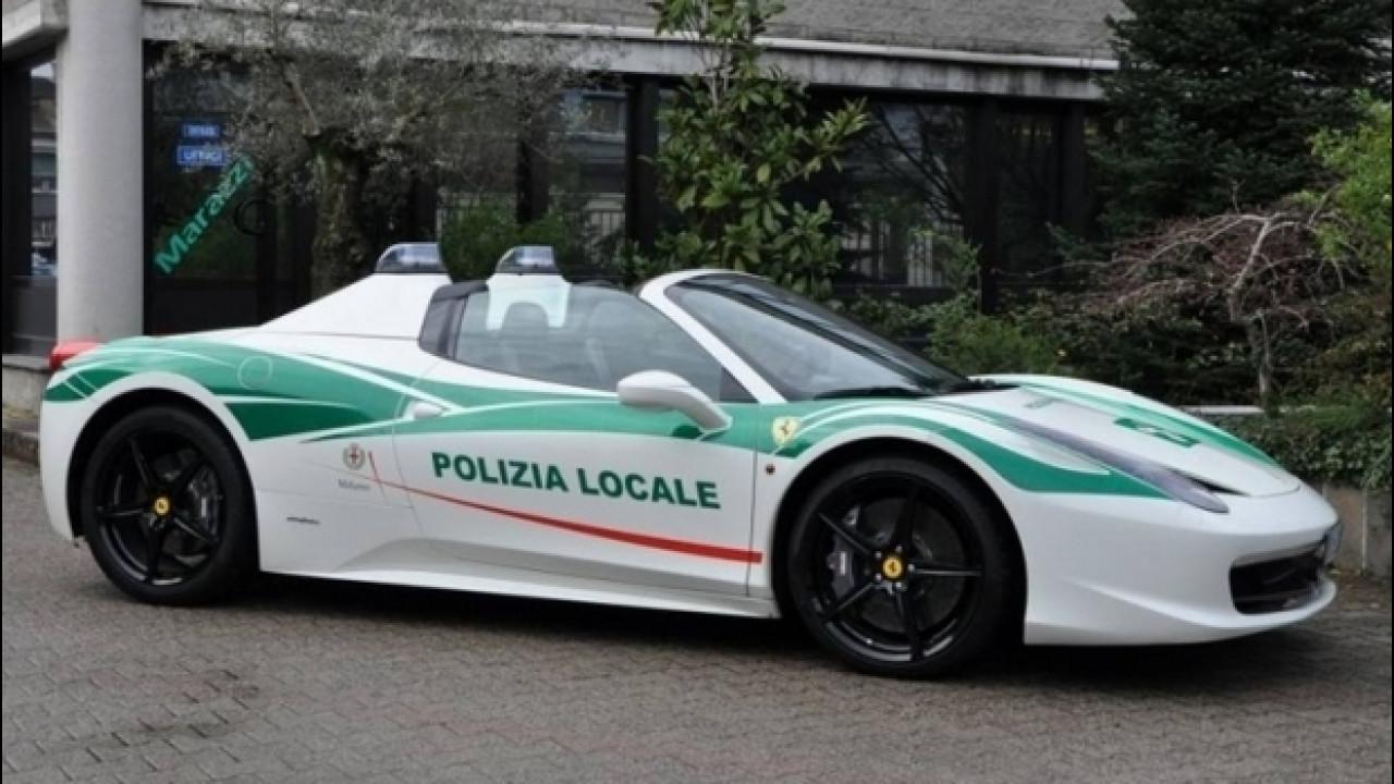 [Copertina] - Ferrari 458 Spider, dalla Camorra alla Polizia