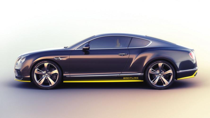 Bentley, le acrobazie della Continenal GT Speed