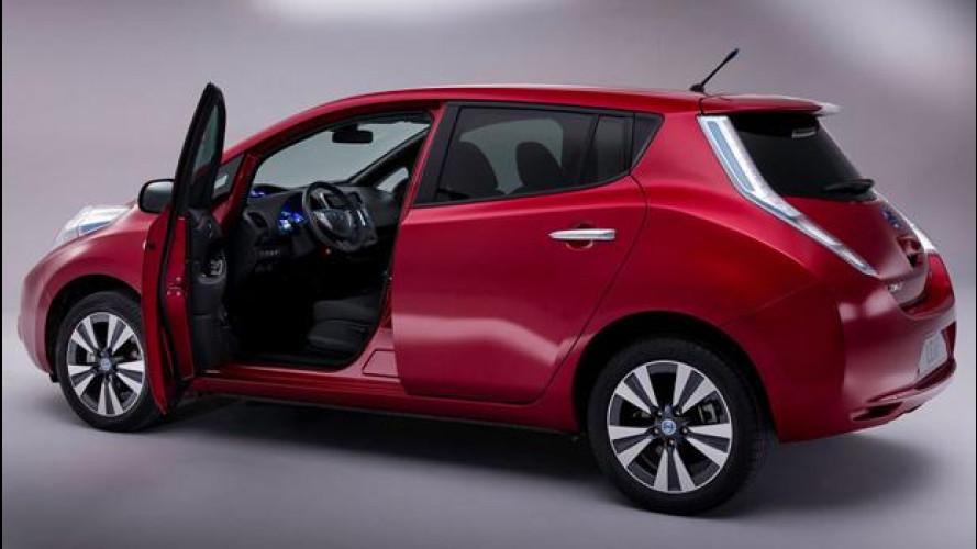 Nissan Leaf protagonista della Giornata Mondiale per la Sicurezza Stradale