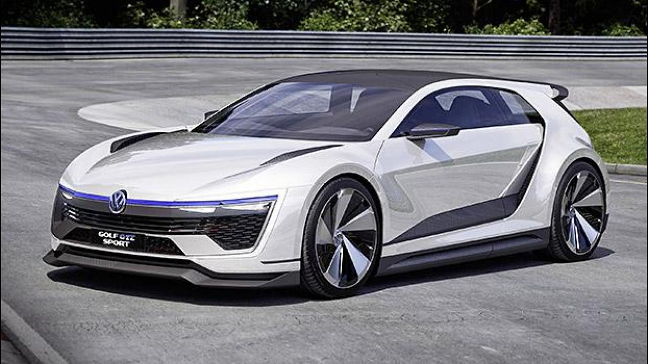 [Copertina] - Volkswagen Golf GTE Sport, l'ibrida di domani ha 400 CV