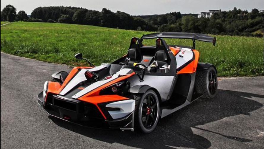 KTM X-Bow R, la Limited Edition sfiora i 3 secondi nello 0-100