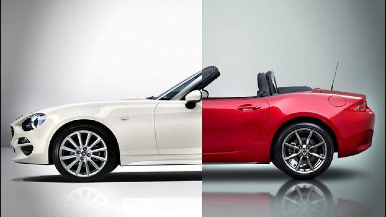 [Copertina] - Fiat 124 Spider o Mazda MX-5, quale vestito preferite?