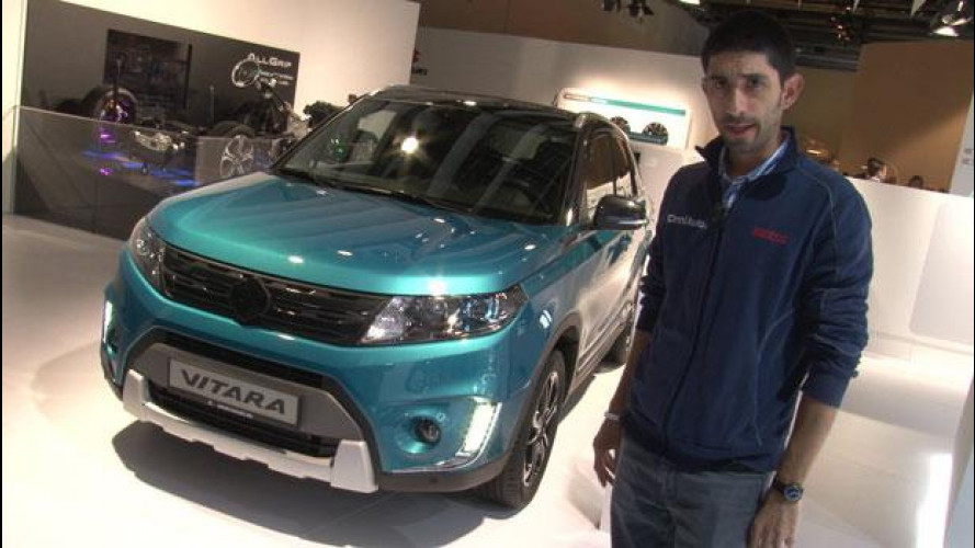 Salone di Francoforte, ecco la Suzuki Vitara [VIDEO]