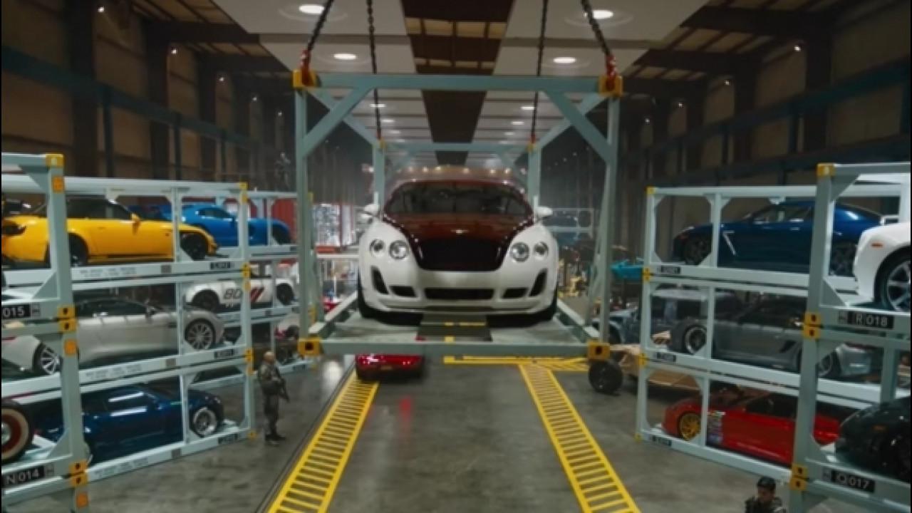 [Copertina] - Fast & Furious 8, il backstage del favoloso nuovo garage [VIDEO]
