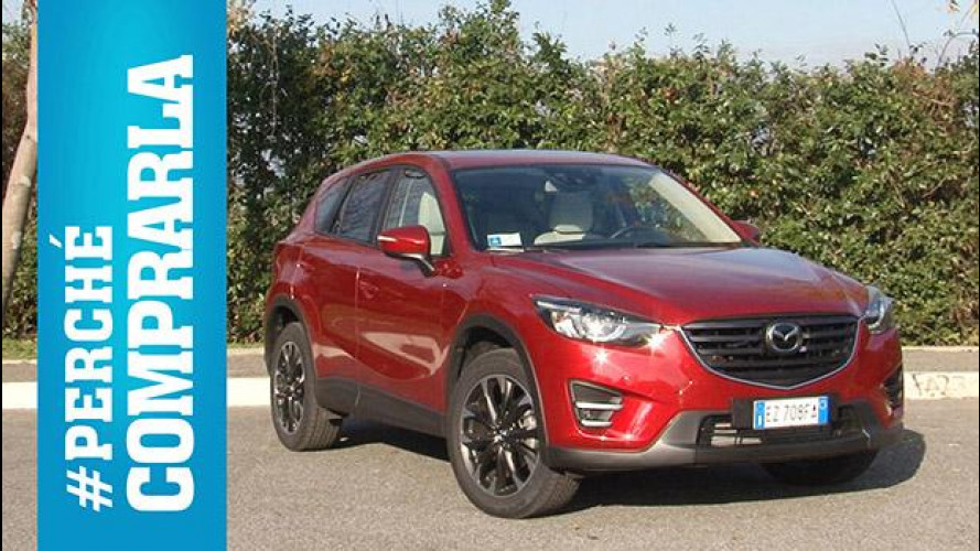 Mazda CX-5, perché comprarla… e perché no [VIDEO]