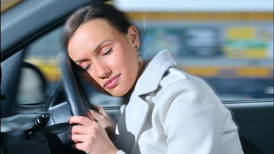 Patente, chi rischia il colpo di sonno non può guidare
