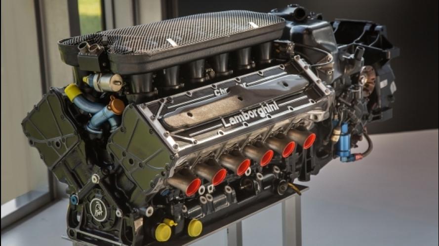 La storia del V12 Lamborghini per la McLaren di Ayrton Senna