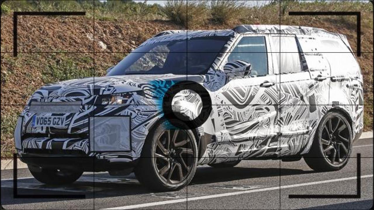 [Copertina] - Nuova Land Rover Discovery, prime foto spia