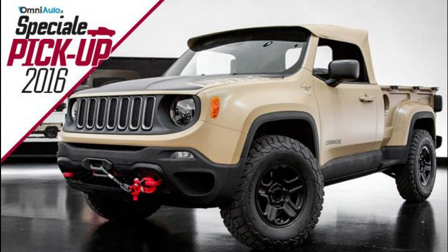 Jeep Comanche concept, la Renegade pick-up