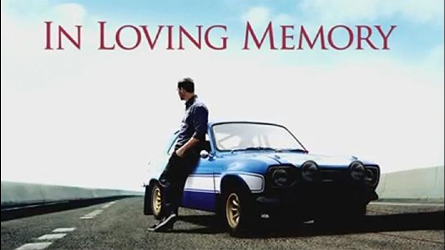 Paul Walker, Fast & Furious gli dedica un VIDEO tributo