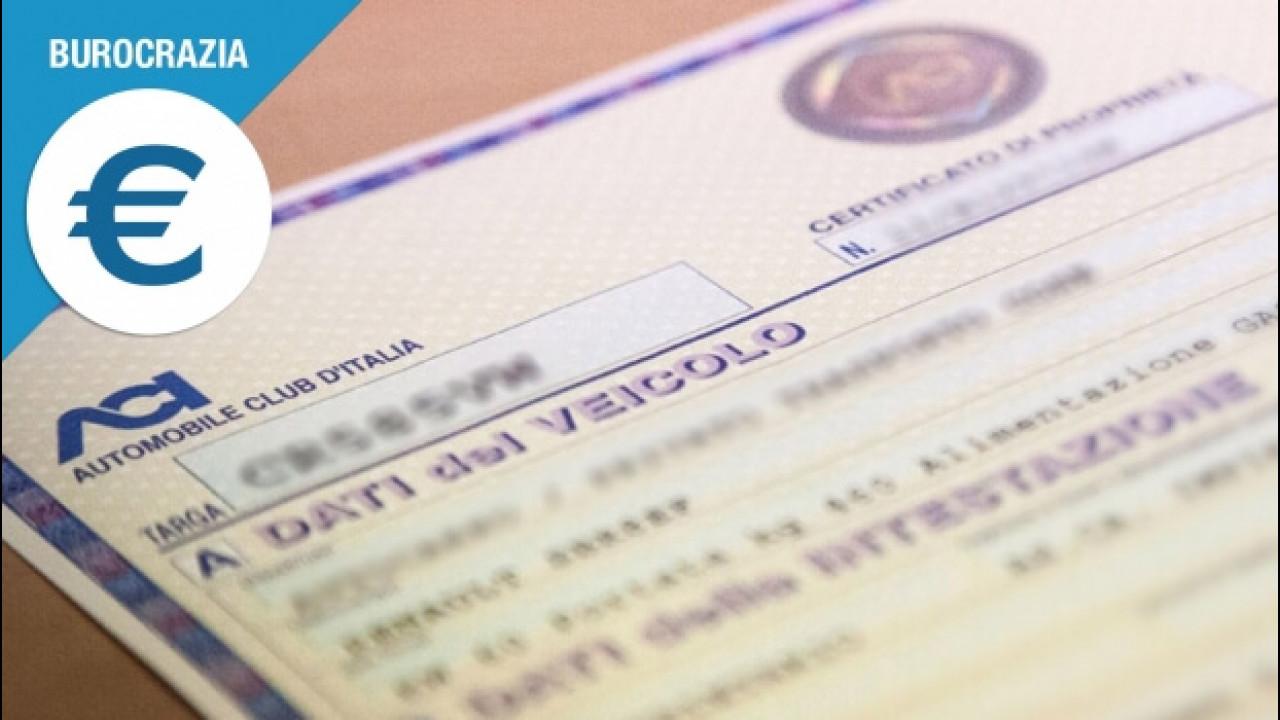 [Copertina] - Certificato di Proprietà smarrito, cosa fare
