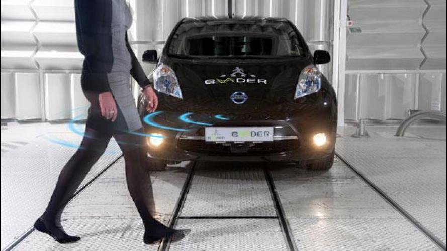 Auto elettriche: Nissan propone l'avviso acustico intelligente