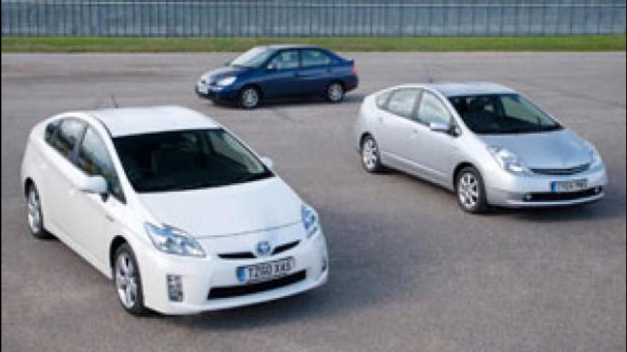 Toyota, otto milioni di ibride vendute