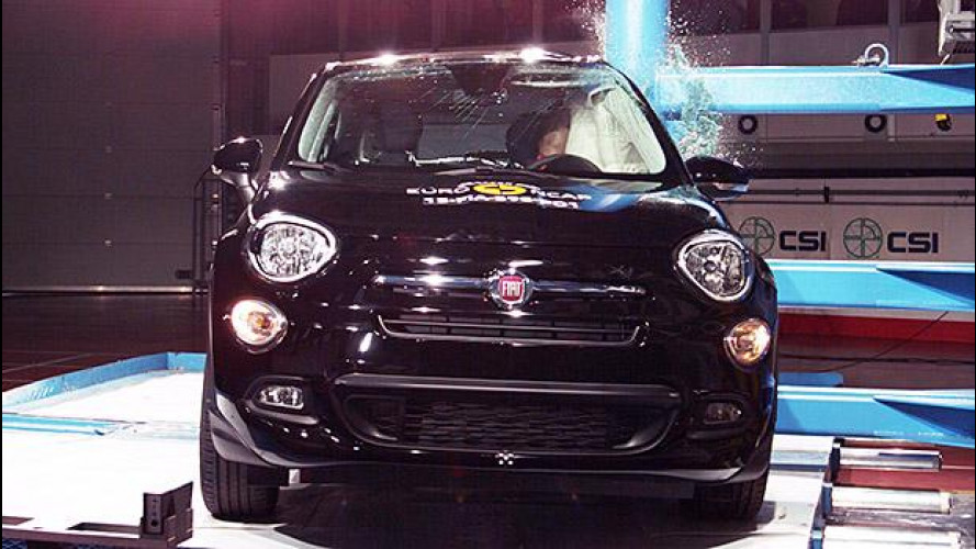 Crash Test Euro NCAP, 4 stelle per Fiat 500X