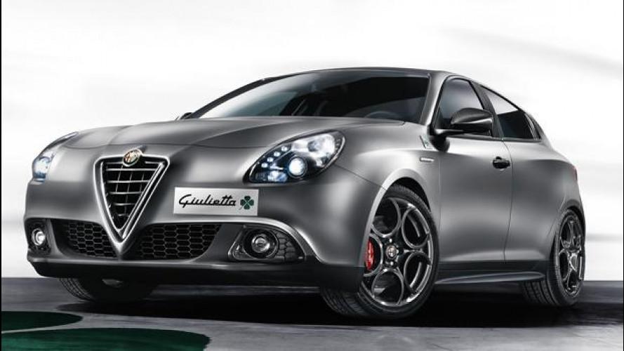Alfa Giulietta Quadrifoglio Verde restyling, ora è potente come la 4C