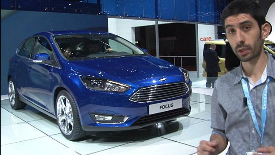 Ford Focus restyling: il nuovo SYNC 2 in prova a Ginevra