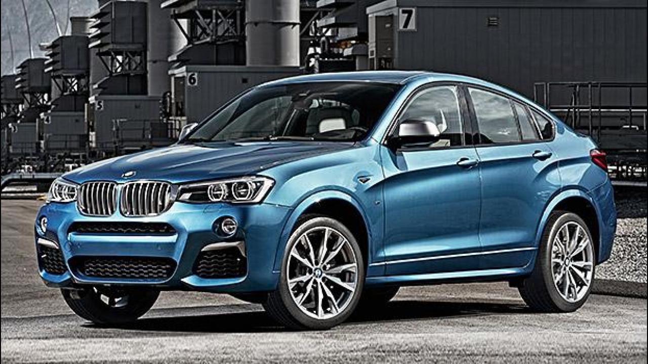 [Copertina] - BMW X4 M40i, SUV e coupé da 360 CV