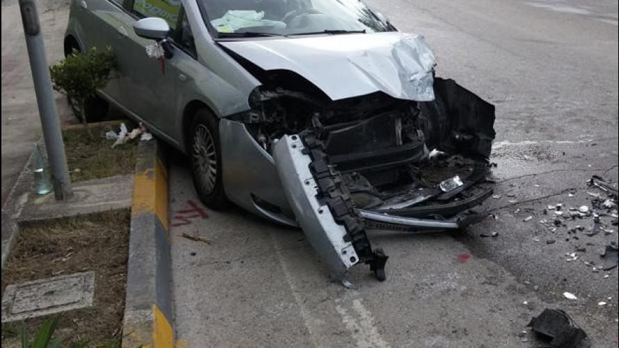 Incidenti stradali, torna l'emergenza in città