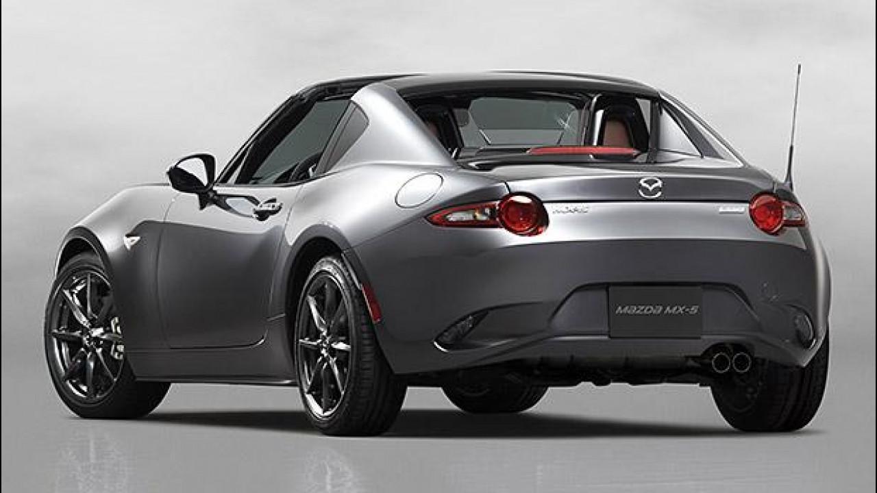 [Copertina] - Mazda MX-5 RF, col tetto rigido retraibile è quasi coupé