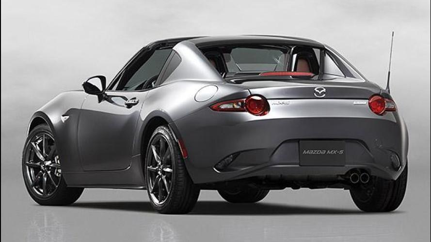 Mazda MX-5 RF, col tetto rigido retraibile è quasi coupé