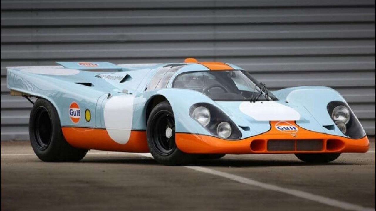 [Copertina] - Porsche 917K, all'asta quella di Steve McQueen