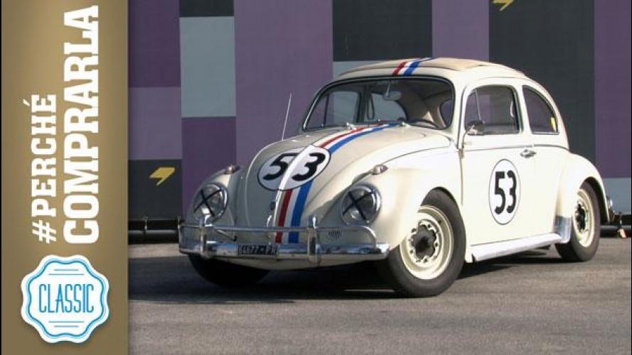 Volkswagen Maggiolino (Herbie), perchè comprarla... Classic [VIDEO]
