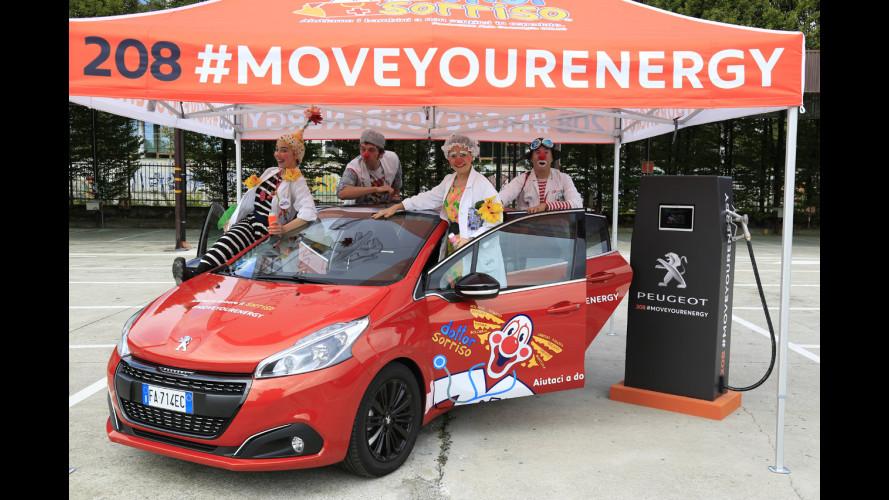 Peugeot 208, parte il social tour per Dottor Sorriso