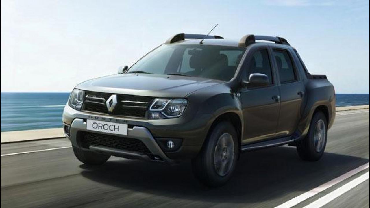 [Copertina] - Renault Duster Oroch, primo pick-up alla francese