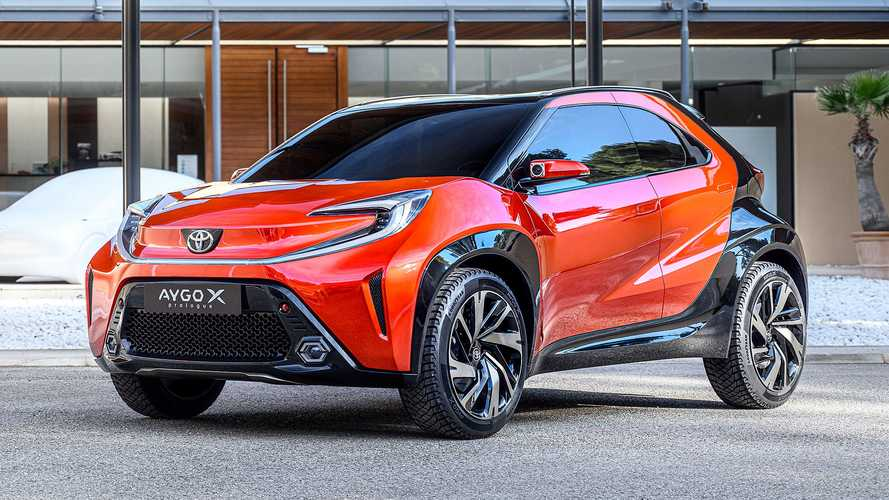 Toyota Aygo X Prologue Revealed To Preview New City Car With Bold Look