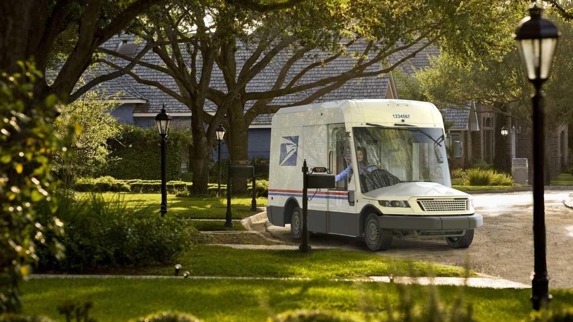 Дамы и господа, встречайте следующего грузовика службы доставки почты США.