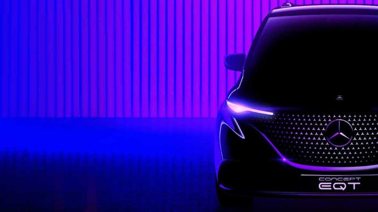 Mercedes-Benz teases EQT ahead of its May debut.
