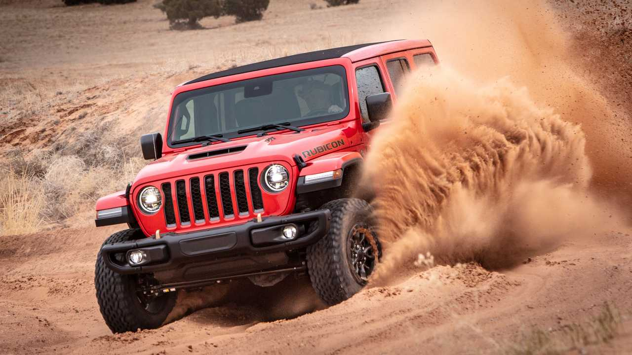 Ford responds to Jeep's diss about Timberline trim.