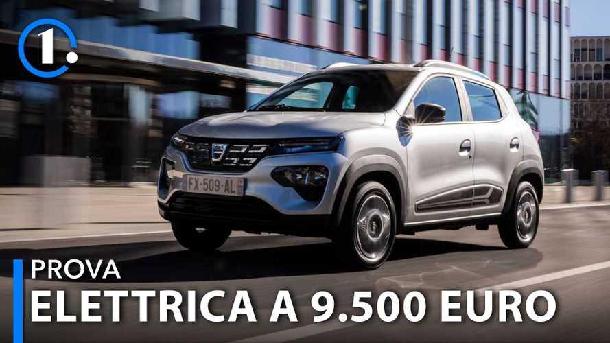 Dacia Spring, come va l'elettrica da 9.500 euro
