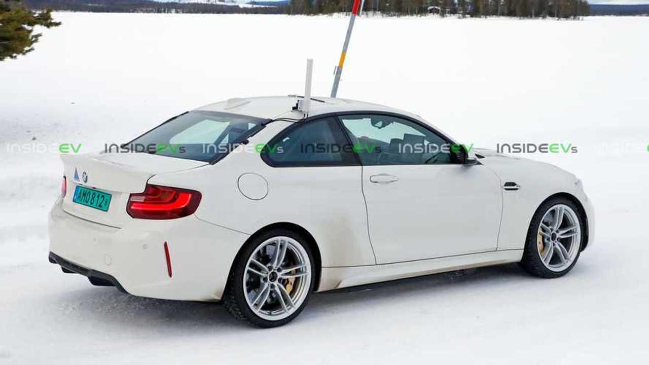 BMW M2 EV Mule/Prototype