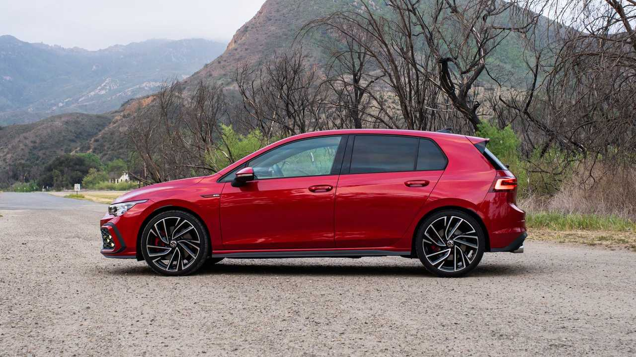 2021 Volkswagen GTI European-Spec Exterior Side Profile