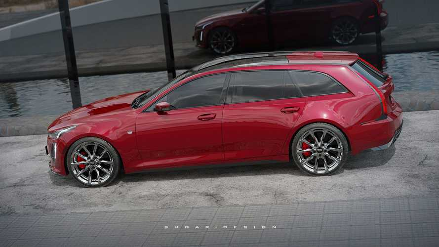 Cadillac CT5 Sport Wagon Rendering Proposes An Interesting Idea