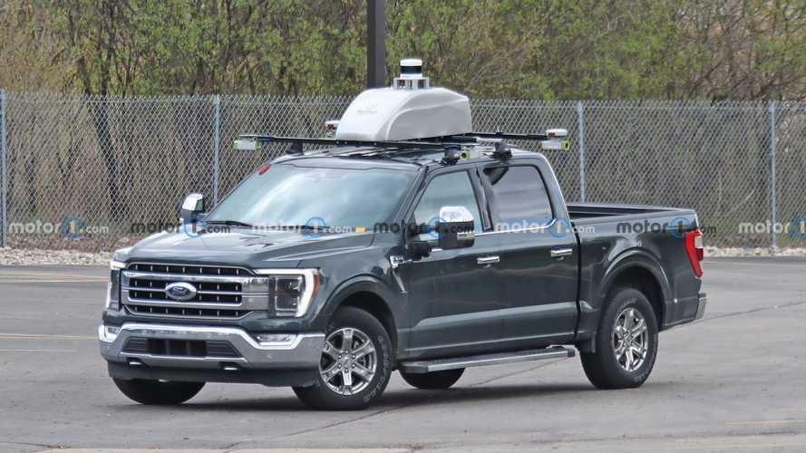 Ford F-150 Autonomous Vehicle Test Mule Spy Photos