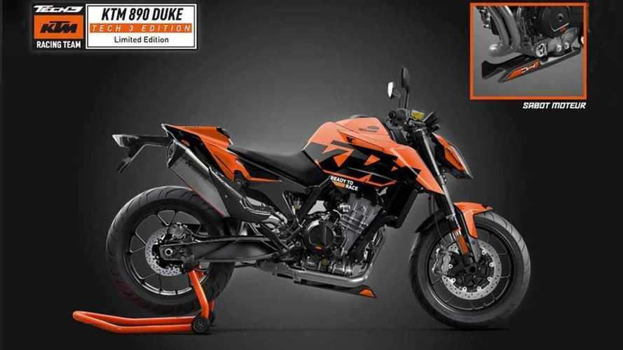 KTM Celebrates Tech 3 MotoGP Team With Special Edition 890 Duke