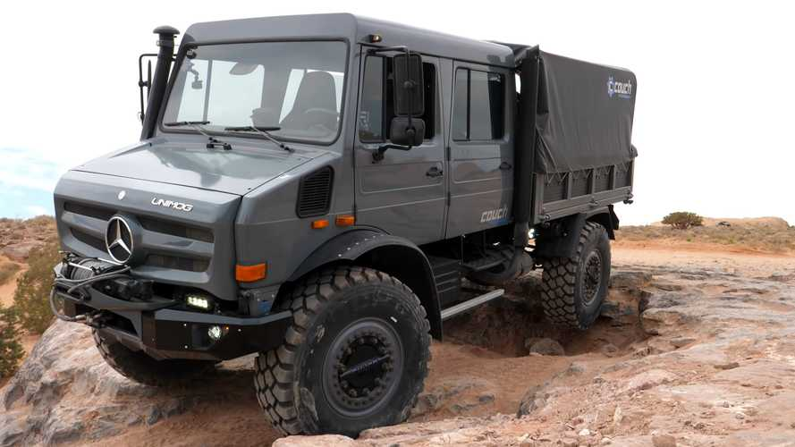 See Epic Mercedes Unimog Show No Mercy At Hell's Revenge In Moab
