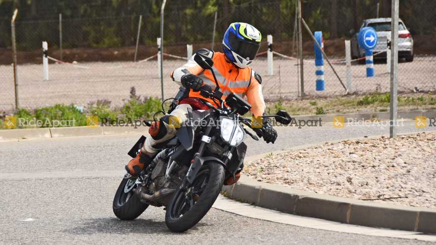 Spotted: KTM 390 Duke Won't Be Left Out Of Upcoming Update