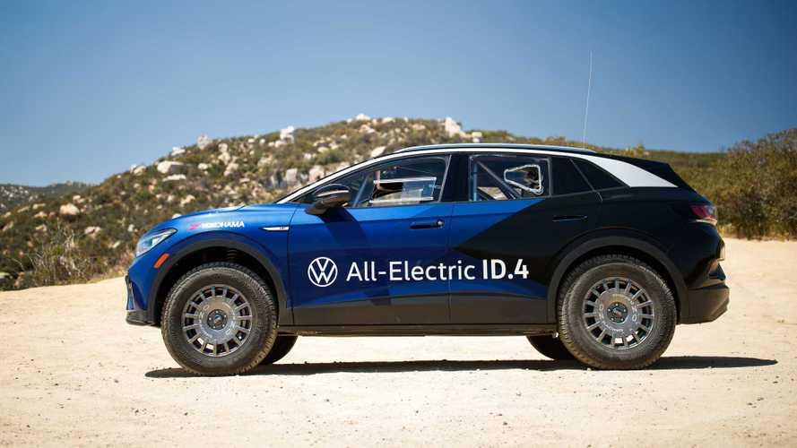 Volkswagen ID.4 финишировал в мексиканском ралли. Но в конце