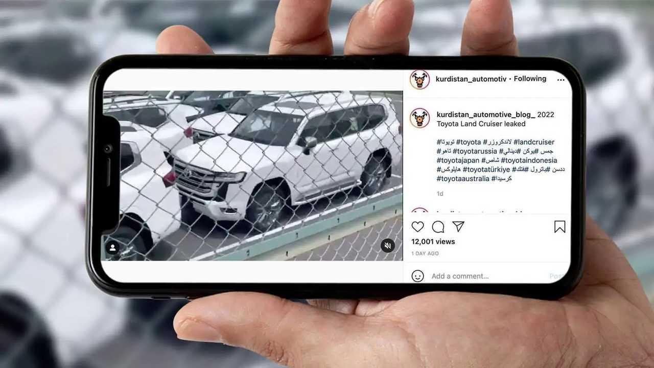 2022 Toyota Land Cruiser Leaked Spy Video