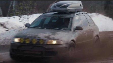 Custom Audi RS4 Avant is ready to go on a safari