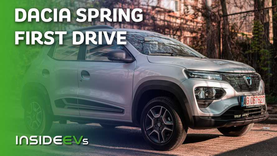 Dacia Spring First Drive - Europe's Cheapest EV Is Actually Alright